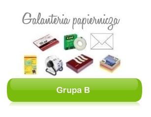 Grupa B - galanteria papiernicza