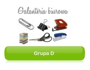 Grupa D - akcesoria biurowe