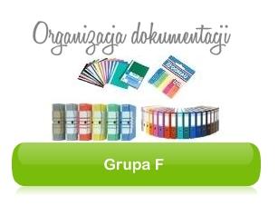 Grupa F - Organizacja dokumentacji