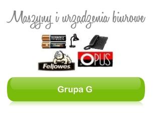 Grupa G - Maszyny i urządzenia biurowe