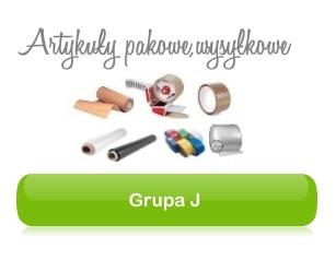 Grupa J - Artykuły do pakowania