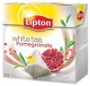 Herbata Lipton piramidki White Tea z granatem 20 torebek