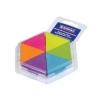 Bloczek samoprzylepny, trójkątny, neon, 43x50mm, DONAU