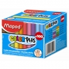 Kreda szkolna kolorowa - pudełko - 100 sztuk MAPED