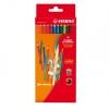 Kredki ołówkowe STABILO color kpl.12 szt