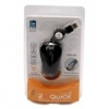 Mysz A4-Tech MOP-60D2xclick Mini USB czarna