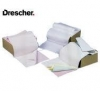 Papier komputerowy DRESCHER 210x 12' 1+0 kolor 36,75!