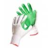 Rękawice ekon. Brick (HS-04-007), montażowe, rozm. 10, biało-zie