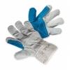 Rękawice ekon. Pop3 (HS-01-003), mont., wzm. skórą dwoiną bydlęc
