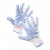 Rękawice ekon. Universal (HS-04-006), montażowe, rozm. 10, biało