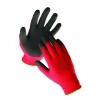 Rękawice ekon. powlekane (HS-04-012), montażowe czarno-czerw.